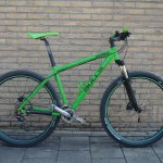 naamstickers | 29er Bulls mountainbike