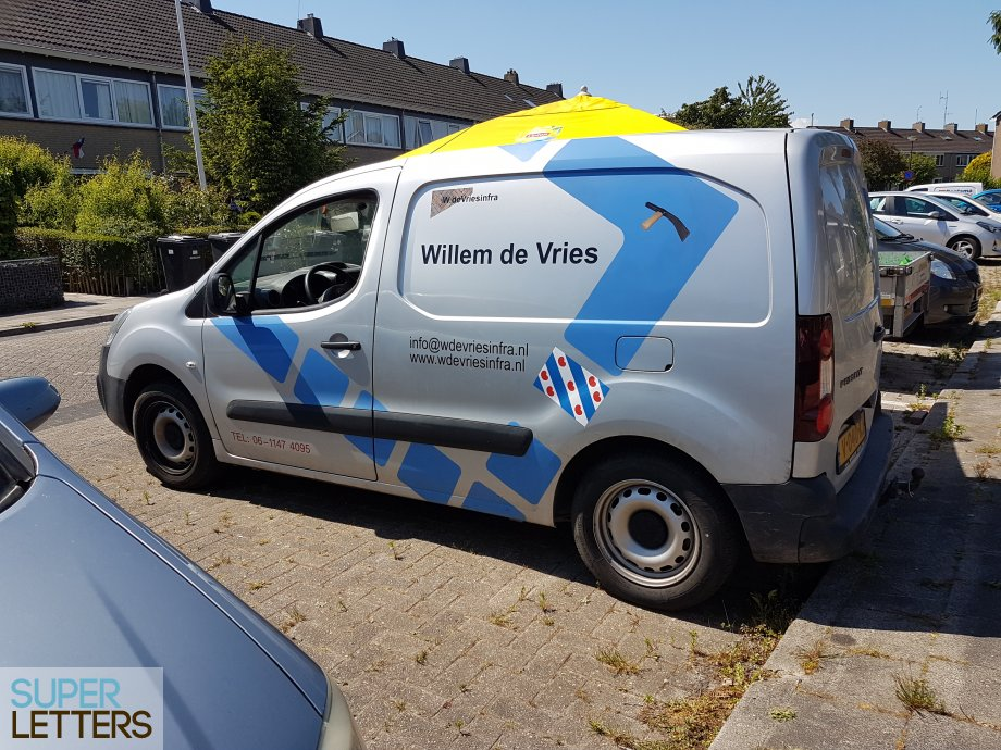 naamstickers | wdevriesinfra auto