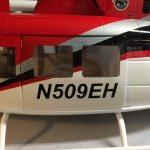 naamstickers | Bell 212 helicopter