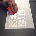 Belettering applicatietape